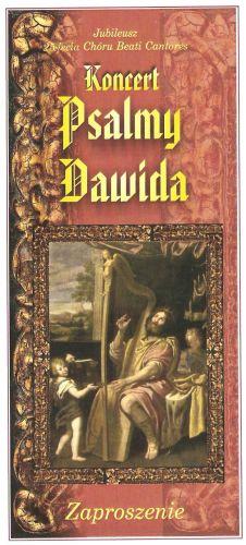 Koncert-Psalmy Dawida
