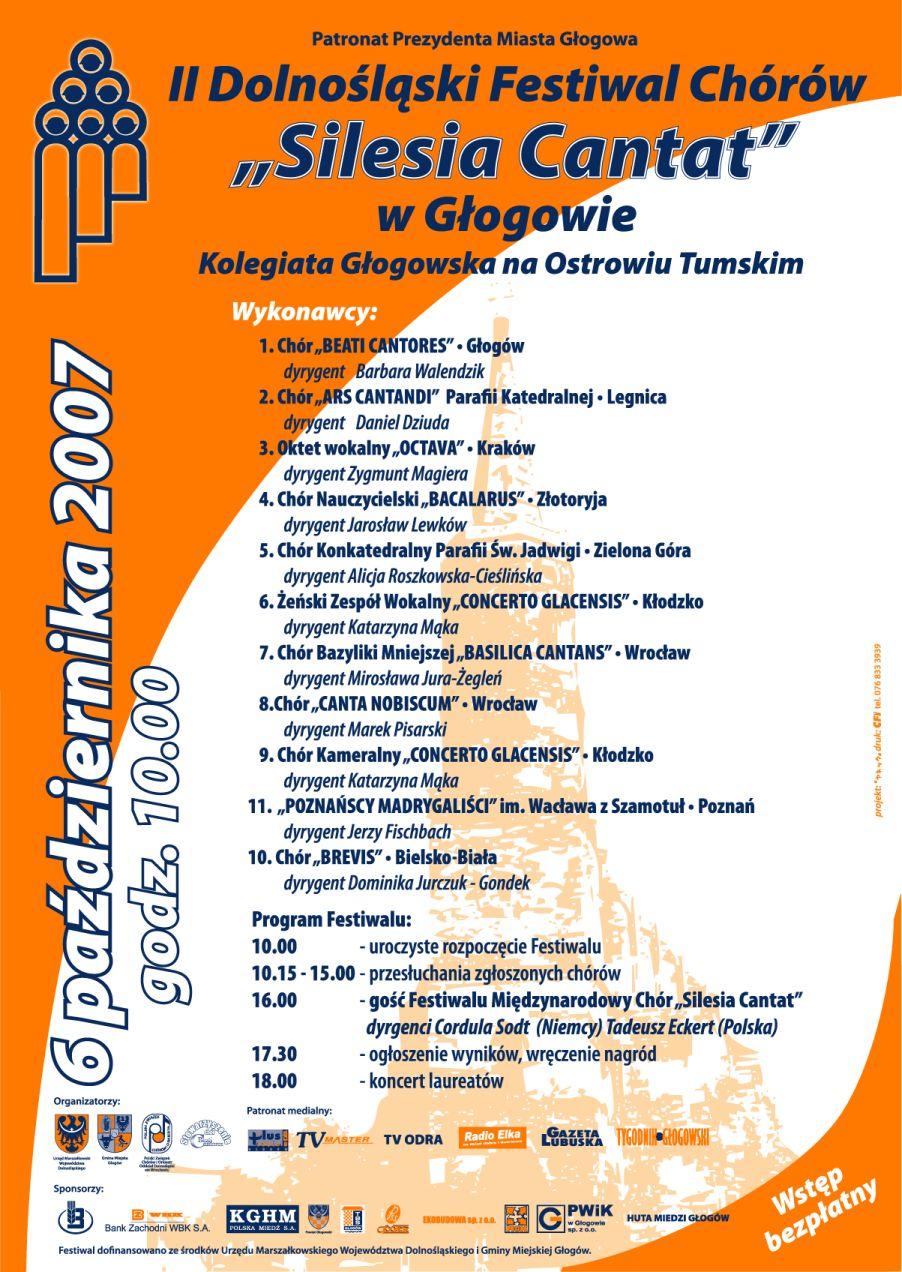 Silesia Cantat 2007